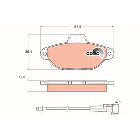 TRW Cooling fan clutch GDB1115