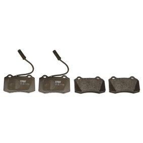 TRW Bremsbelagsatz, Scheibenbremse 5892740 für FORD, FIAT, ALFA ROMEO, CHRYSLER, LANCIA bestellen