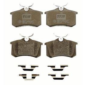 TRW Bremsbelagsatz, Scheibenbremse 1E0698451 für VW, AUDI, FORD, SKODA, SEAT bestellen