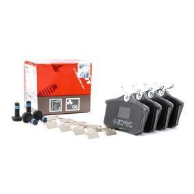 JZW698451 für VW, AUDI, FORD, SKODA, SEAT, Bremsbelagsatz, Scheibenbremse TRW (GDB1330) Online-Shop
