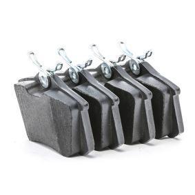 TRW GDB1330 Jogo de pastilhas para travão de disco OEM - 4D0698451E AUDI, FORD, SEAT, SKODA, VW, VAG, PILENGA, STARK económica