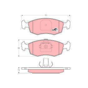 Bremsbelagsatz, Scheibenbremse TRW Art.No - GDB1383 OEM: 9948131 für FIAT, ALFA ROMEO, LANCIA kaufen