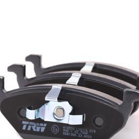 TRW Bremsbelagsatz, Scheibenbremse (GDB1386) niedriger Preis