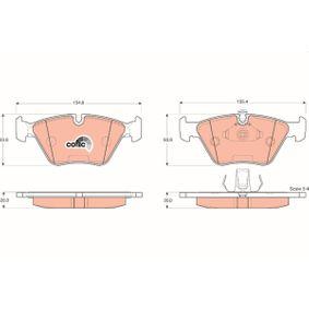 Bremsbelagsatz, Scheibenbremse TRW Art.No - GDB1404 kaufen