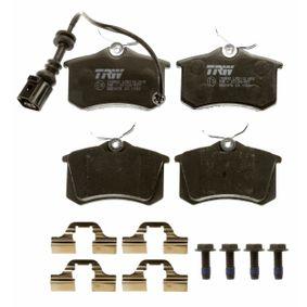 TRW Bremsbelagsatz, Scheibenbremse 6Q0698451 für VW, AUDI, SKODA, SEAT, HONDA bestellen