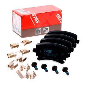 4B3698451A für VW, AUDI, SKODA, SEAT, Bremsbelagsatz, Scheibenbremse TRW (GDB1516) Online-Shop