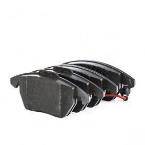 3C0698151C pour PEUGEOT, CITROЁN, VOLKSWAGEN, AUDI, SEAT, Kit de plaquettes de frein, frein à disque TRW (GDB1550) Boutique en ligne