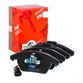 TRW Kit de plaquettes de frein, frein à disque (GDB1550) à bas prix