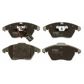 TRW Kit de plaquettes de frein, frein à disque GDB1550