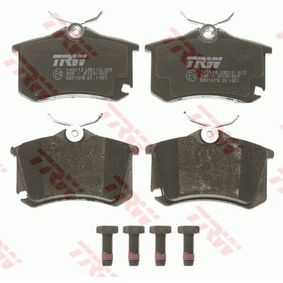 Bremseklodser TRW Art.No - GDB1578 OEM: 1K0698451A til VW, AUDI, SKODA, SEAT, PORSCHE erhverv