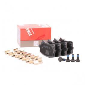 1K0698451E für VW, AUDI, SKODA, SEAT, VOLVO, Bremsbelagsatz, Scheibenbremse TRW (GDB1622) Online-Shop