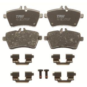 TRW Bremsbelagsatz, Scheibenbremse GDB1629