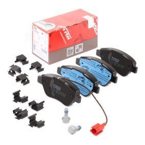 Bremsbelagsatz, Scheibenbremse TRW Art.No - GDB1654 OEM: 71770098 für FIAT, ALFA ROMEO, LANCIA kaufen