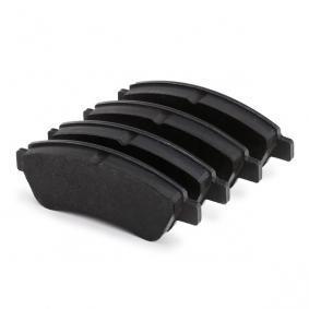 TRW Brake Pad Set, disc brake (GDB1677) at low price