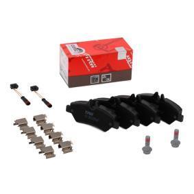 A0044206920 für VW, MERCEDES-BENZ, Bremsbelagsatz, Scheibenbremse TRW (GDB1697) Online-Shop
