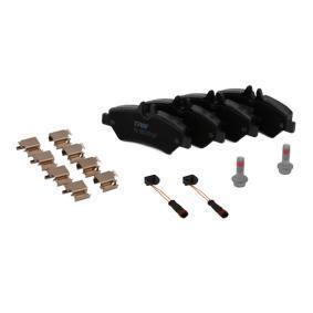 TRW GDB1697 Bremsbelagsatz, Scheibenbremse OEM - A0044206920 MERCEDES-BENZ, VW, CHAMPION, E.T.F., OEMparts günstig