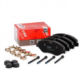2E0698151 für VW, MERCEDES-BENZ, AUDI, SKODA, SEAT, Bremsbelagsatz, Scheibenbremse TRW (GDB1698) Online-Shop