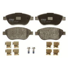 TRW Bremsbelagsatz, Scheibenbremse 77365857 für FIAT, ALFA ROMEO, LANCIA, ABARTH bestellen