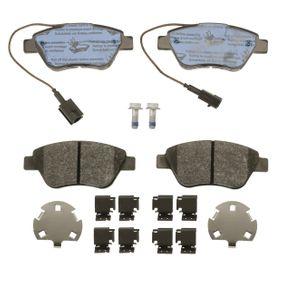 TRW Bremsbelagsatz, Scheibenbremse 4254C8 für FIAT, PEUGEOT, CITROЁN bestellen