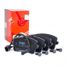 TRW Kit de plaquettes de frein, frein à disque (GDB1902) à bas prix