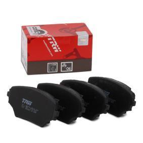 RAV 4 II (CLA2_, XA2_, ZCA2_, ACA2_) TRW Brake pad set disc brake GDB3251