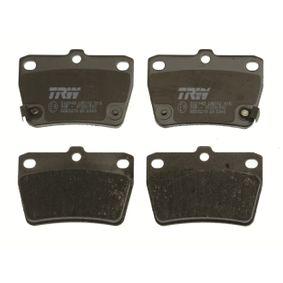 Brake pads TRW (GDB3279) for TOYOTA RAV 4 Prices