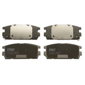 TRW Bremsbelagsatz, Scheibenbremse 58302H1A00 für TOYOTA, HYUNDAI, KIA bestellen