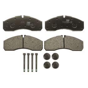 TRW Bremsbelagsatz, Scheibenbremse 410609X129 für NISSAN, MITSUBISHI, SUBARU, INFINITI bestellen