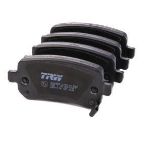 TRW Bremsbelagsatz, Scheibenbremse 68029887AA für MERCEDES-BENZ, FIAT, ALFA ROMEO, JEEP, CHRYSLER bestellen
