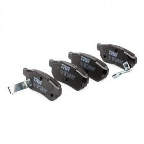 TRW Комплект спирачно феродо, дискови спирачки GBP90316AF за HONDA, SKODA, ROVER, MG купете