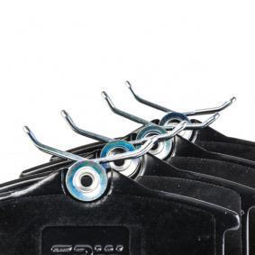 TRW Bremsbelagsatz, Scheibenbremse 1H0698451H für VW, AUDI, SKODA, PEUGEOT, SEAT bestellen