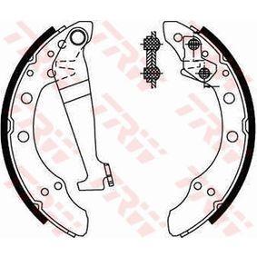 Bremsbackensatz TRW Art.No - GS8092 OEM: 6Q0609526A für VW, AUDI, SKODA, SEAT, VAUXHALL kaufen