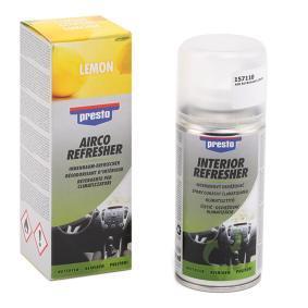 Поръчайте 157110 Препарат за почистване / дезифенктант за климатизатора от PRESTO