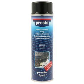 Поръчайте 306017 Антикорозионна защита на долната част на купето от PRESTO