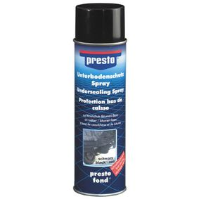 Order 306017 Underbody Protection from PRESTO