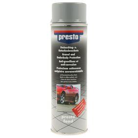 Поръчайте 306031 Антикорозионна защита на долната част на купето от PRESTO