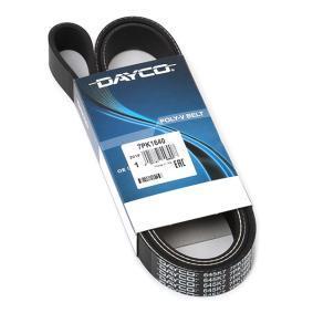 DAYCO Serpentine belt 7PK1640