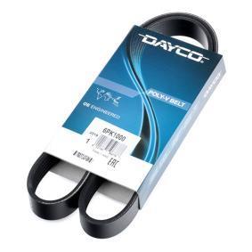 407 (6D_) DAYCO Correa de alternador 6PK1000