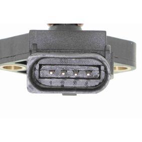 Snímač plnícího tlaku vzduchu V10-72-1107 VEMO