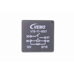 Golf V Хечбек (1K1) VEMO Управляващ блок, електрически вентилатор (охлаждане на двига V15-71-0007