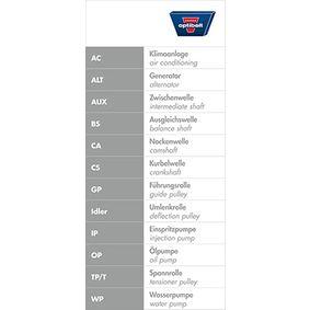 Zahnriemen OPTIBELT Art.No - ZRK 1223 OEM: 058109119A für VW, AUDI, SKODA, SEAT kaufen