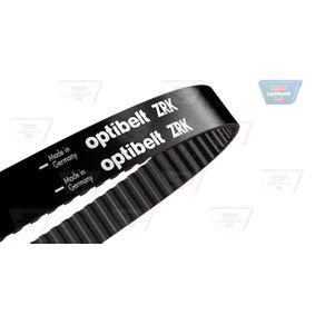 Zahnriemen OPTIBELT Art.No - ZRK 1237 OEM: 026109119B für VW, AUDI, SKODA, SEAT kaufen