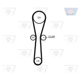 25 Хечбек (RF) OPTIBELT Зъбен ремък ZRK 1334