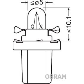 OSRAM VW CRAFTER Innenraumbeleuchtung (2721MF)