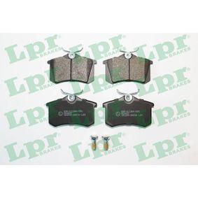 LPR Bremsbelagsatz, Scheibenbremse (05P634) niedriger Preis