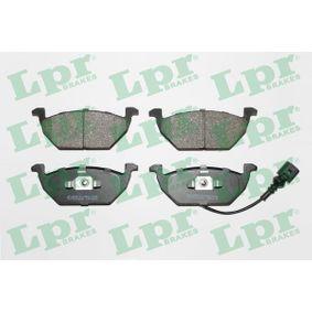 LPR Bremsbelagsatz, Scheibenbremse (05P692) niedriger Preis