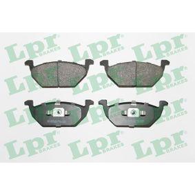 LPR Bremsbelagsatz, Scheibenbremse (05P730) niedriger Preis