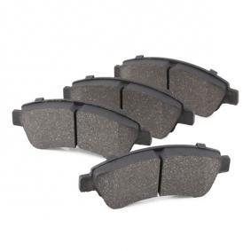 LPR 05P802 Brake Pad Set, disc brake OEM - 1613192280 CITROËN, PEUGEOT, PIAGGIO, HELLA, CITROËN/PEUGEOT, GLASER, SCT Germany, DS cheaply