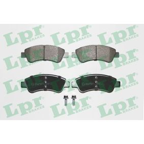 LPR Brake Pad Set, disc brake (05P802) at low price