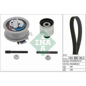 Комплект зъбен ремък INA (530 0201 10) за VW GOLF Цени